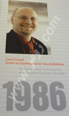 انتخاب آقای Gerd Schaaf به عنوان مدیر عامل